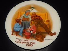Knowles  Bradford Exchange Csatari Grandparent Plate Bedtime Story 1980 ... - $24.74
