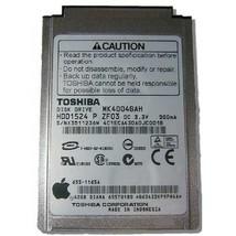 "Lot of 5 Toshiba MK4004GAH 40GB IDE Toshiba HDD1524 4200RPM 2MB 1.8"" 8.0mm - $98.99"