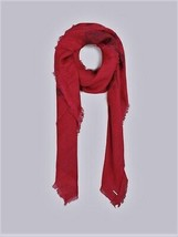 Diesel Unisex Swillot 00STCG Square Scarf Red - $36.43