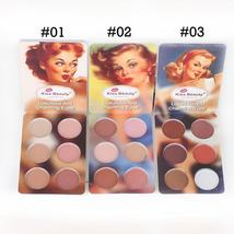 Kiss Beauty Makeup Set Matte Eyeshadow Palette The Nude Color Balm Powde... - $27.00