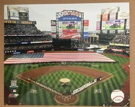 Inaugural Season Opening Day Cit Field New York Mets Glossy Photo 8 X 10... - $5.99