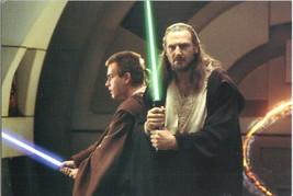 Star Wars Qui-Gon Jinn & Obi-Wan Kenobi 4 x 6 Postcard - $2.00