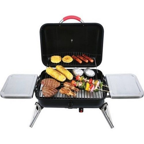 Bbq Gas Grill Outdoor Camping Portable Stainless Tabletop Barbeque Picnic Cookin