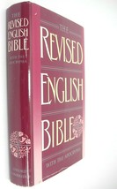 Revised English Bible with Apocrypha 1989 Oxford Cambridge HBDJ Excellent - $20.78