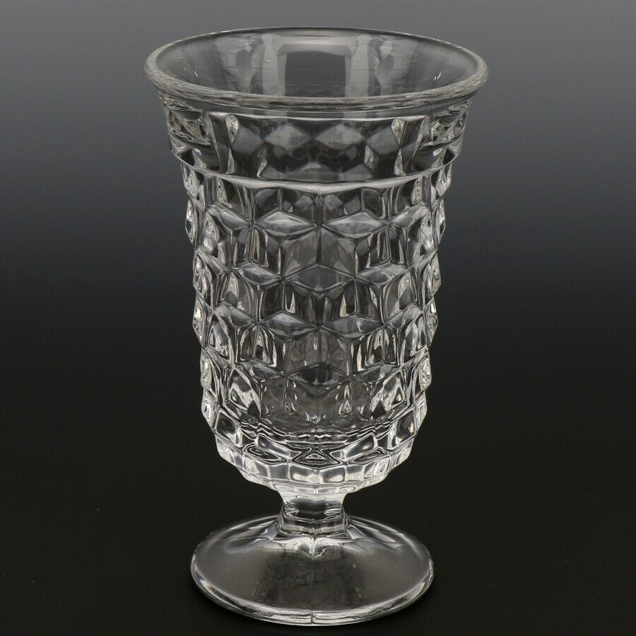 Fostoria American Crystal Goblet 5 OZ Footed Juice