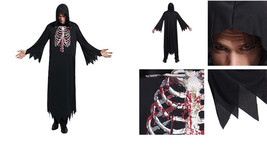 Totally Ghoul Skeleton Reaper Halloween Costume Size: One Size Fits Most - $19.99