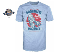 Funko Pop! Star Wars T-Shirt Top Smuggler's Bounty Boonta Eve Pod Race with Pin - $24.13