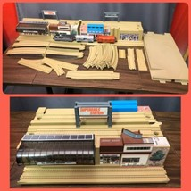Hot Wheels SuperRails Amtrak Train Station Vintage Mattel Travel Storage... - $296.99
