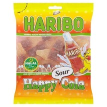 Haribo Halal Happy Cola Sours 100g - $3.01
