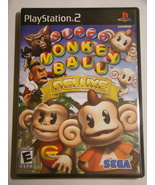 Playstation 2 - SUPER MONKEY BALL DELUXE (Complete with Manual) - $15.00