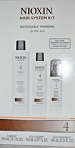 Nioxin System 4 Starter Kit Cleanser, Scalp Therapy & Scalp Treatment (3... - $28.66