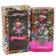 Ed Hardy Hearts & Daggers by Christian Audigier Eau De Parfum Spray 3.4 ... - $29.95