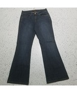 Women's Lee One True Fit Denim Blue Jeans ~ Sz 10M ~ Boot Cut ~ Cotton B... - $24.74