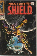 Nick Fury, Agent of S.H.I.E.L.D. Comic Book #6 Marvel 1968 VERY FINE/NEA... - $91.83