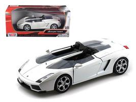 Lamborghini Concept S White 1/24 Diecast Car Model by Motormax - $30.46