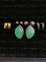 Lot of 5 Pair of Pierced Earrings (2116) - $10.00
