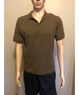 Men's Patagonia Organic Cotton Polo Shirt Small Brown Outdoors Trail Hiking - $19.34