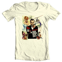 James Bond T-shirt From Russia with Love Sean Connery 100% cotton graphic tee image 2