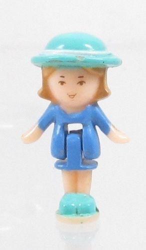 1993 Vintage Lot Polly Pocket Doll Wedding Chapel - Midge Bluebird Toys