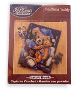 "J&P Coats Bedtime Teddy Latch Hook Rug Kit 18"" x 24"" Model No 25024 Made... - $29.99"