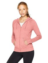 Champion Women's Heathered Jersey Jacket (Large|Pretty Coral Heather) - $29.66