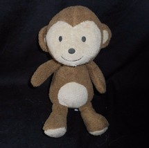 """9"""" Carter's Baby Brown Monkey Just One You Rattle Stuffed Animal Plush Toy Soft - $45.82"""