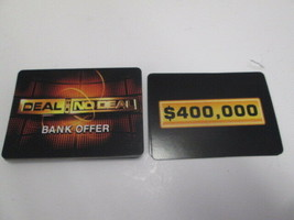 Cardinal 2006 Deal or No Deal replacement bank offer cards complete set ... - $4.90