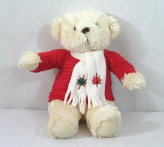 """Hallmark Christmas Jingle Bear Plush 14"""" Stuffed Animal Plush Musical - $11.87"""