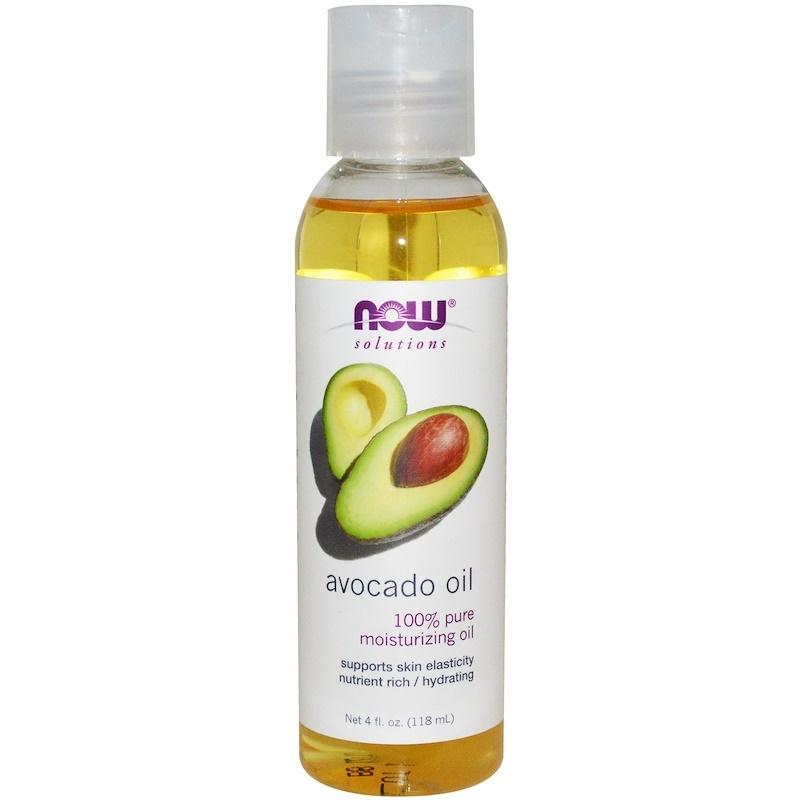 Now Foods, Solutions, Avocado Oil 4 fl oz (118 ml)  Aromatherapy Essential Oils