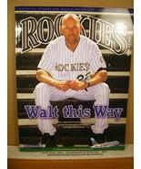 Rockies Scorecard Magazine Vol 21 No 5 July 2013 Walt Weiss - $11.69
