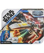 NEW SEALED Star Wars Mission Fleet Luke Skywalker Stellar X Wing Fighter - $29.69