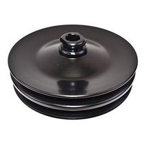 A-Team Performance Saginaw Power Steering Pump Double-Groove Steel Pulley Compat image 2