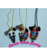 The Nightmare Before Christmas Jack, Couple, or Sally Clay Charm Necklace - $25.99+