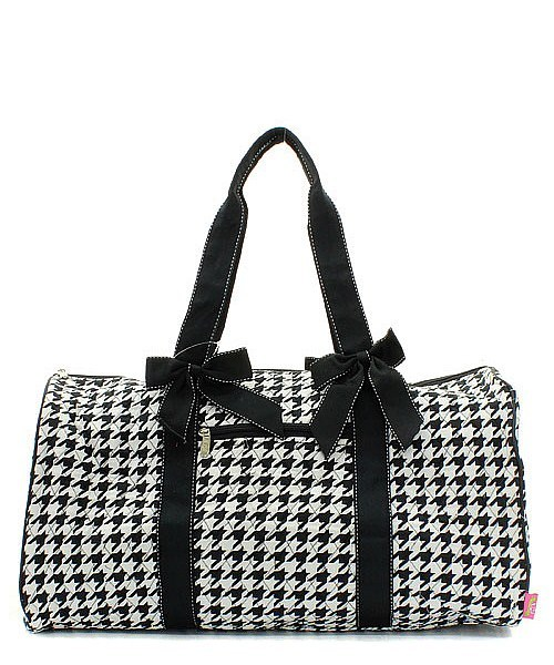 6d80cc07a5 Houndstooth Duffle Bag and 50 similar items