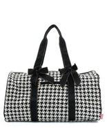 Houndstooth Duffle Bag - $36.00