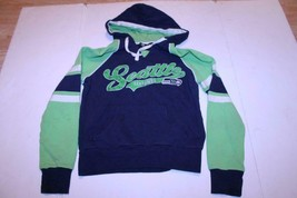 Women's Seattle Seahawks Womens M Hoodie Hooded Sweatshirt NFL Team Apparel - $16.82