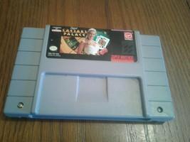 SUPER CAESER'S PALACE - SUPER NINTENDO GAME - $9.49