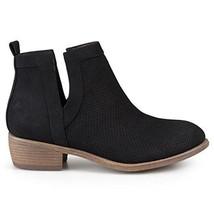 Brinley Co Women's Lynden Ankle Boot, Black, Size 8 Regular - $33.85