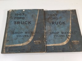 1967 Ford Truck Shop Manual Volumes One & Two - $49.99