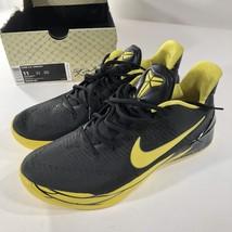 Nike KOBE A.D. Oregon Ducks Basketball Shoes Black Yellow 922026-001 SZ 11 - £75.58 GBP