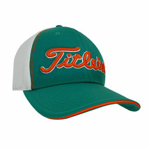 NEW! TITLEIST Unisex Stretch Tech Hat-Teal/White/Orange [S/M] - $54.33