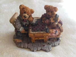 Boyds Bears Grenville w/Matthew & Bailey..Sunday Afternoon Resin-Bearstone #2281 - $37.00