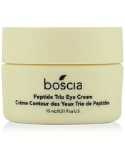 Boscia Peptide Trio Eye Cream 0.51-oz.TARGETS Wrinkles, For Smooth Plump Skin - $9.65