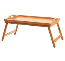 Home it Bed Tray Table Folding Legs Breakfast B... - $25.73