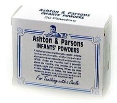 Ashton and Parsons Infant Powders For Teething 20 by Ashton & Parsons - $11.19
