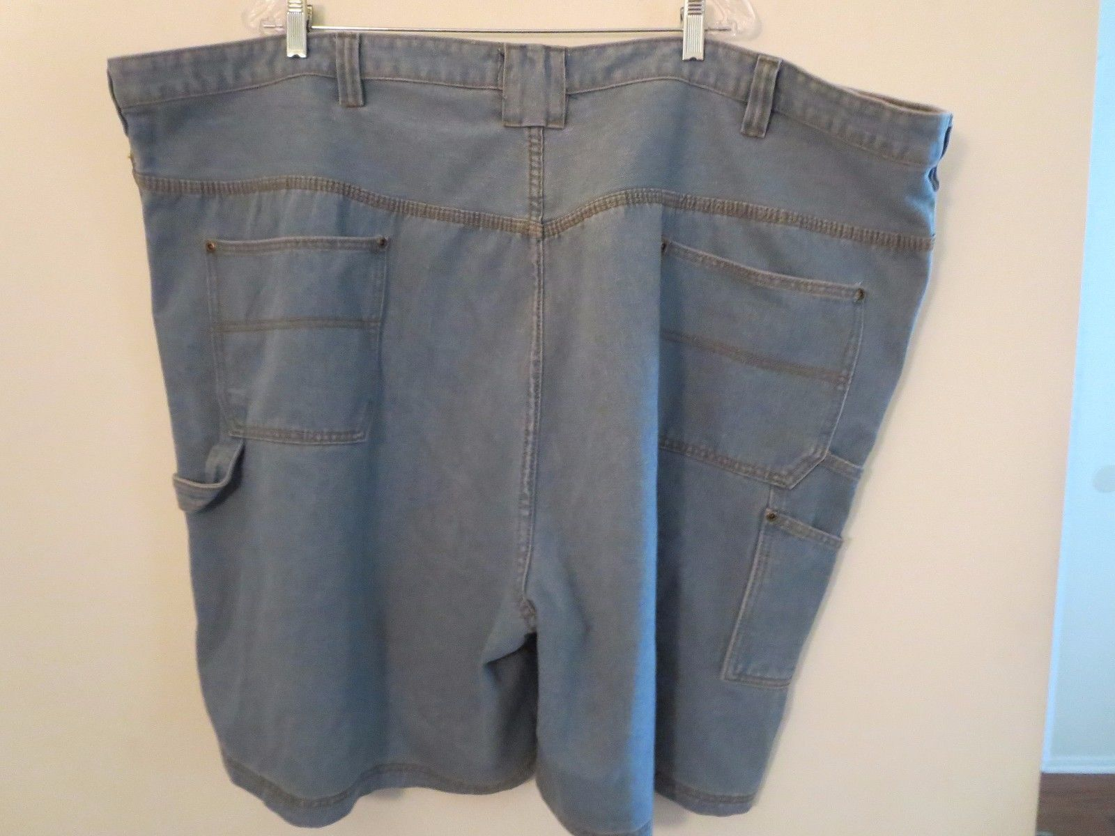 Men's Size 54 Blue Denim Carpenter Shorts Only $17.00  New With Tag 100% Cotton