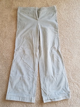 Women's Express Gray Bell Bottom Style Stretch Pants Size 9/10 R -Read Auction - $12.99