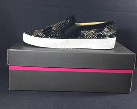 Vince Camuto Canitia Leather Studded Embellished Women's Sneakers Size 6... - $64.34