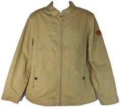 TIMBERLAND MOUNTAIN COTTON MEN'S British Khaki BOMBER JACKET Sz XL, XXL ... - $63.79