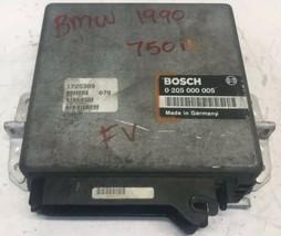 1990 BMW 750iL 5.0L ECM ECU Engine Control Module | 0 205 000 005 - $121.50